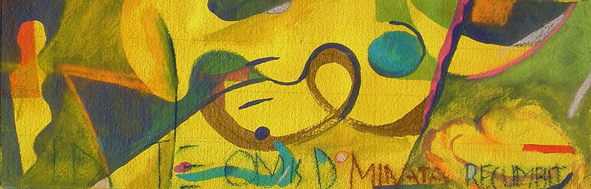 Quero uma arte de equilíbrio entre pensamento, emoção e ação.